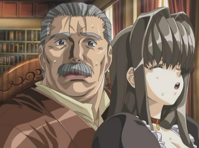 Old man creampie hentai