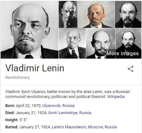 the life of vladimir lenin a russian communist revolutionary and politician